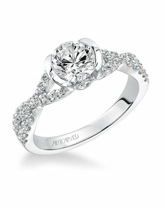 ArtCarved 31-V596ERW-E Engagement Ring photo