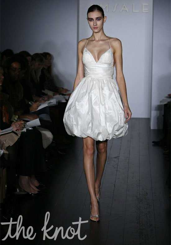 Amsale Presents Little White Dress L105 Josie Wedding Dress