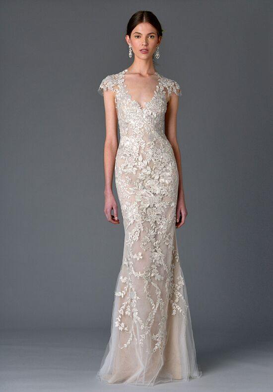 Marchesa silene wedding dress the knot for Marchesa wedding dresses prices