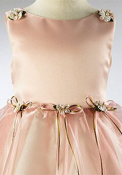 Kids Formal 149 Pink Flower Girl Dress