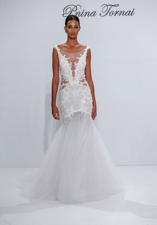 Pnina Tornai for Kleinfeld 4519 Mermaid Wedding Dress