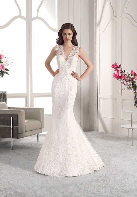 Demetrios 833 Mermaid Wedding Dress