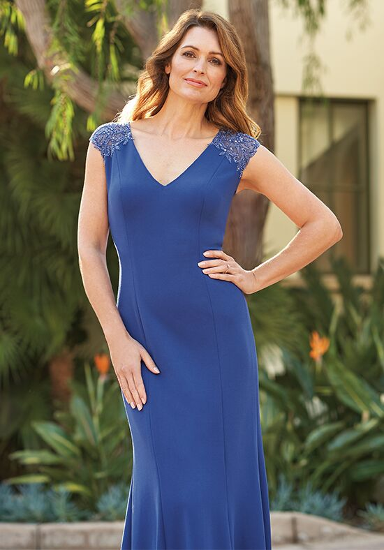 Jade J205060 Blue Mother Of The Bride Dress