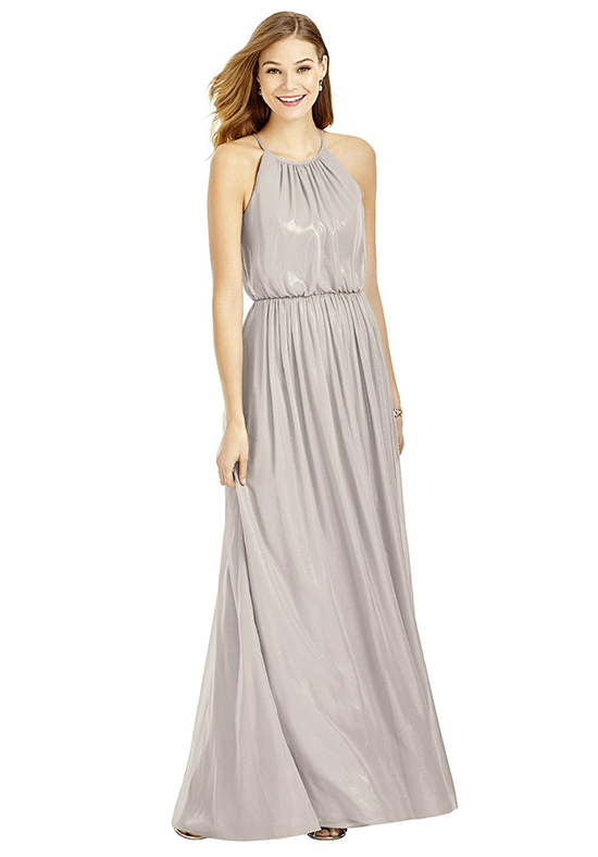 After Six 6754 Halter Bridesmaid Dress