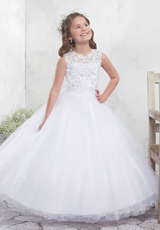 Mary's Angel by Mary's Bridal MB9010 Ivory Flower Girl Dress