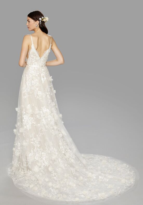 Marchesa contessa wedding dress the knot for Marchesa wedding dresses prices