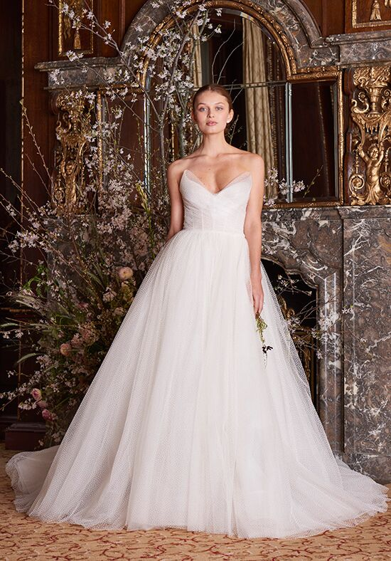 Monique Lhuillier Olympia Ball Gown Wedding Dress