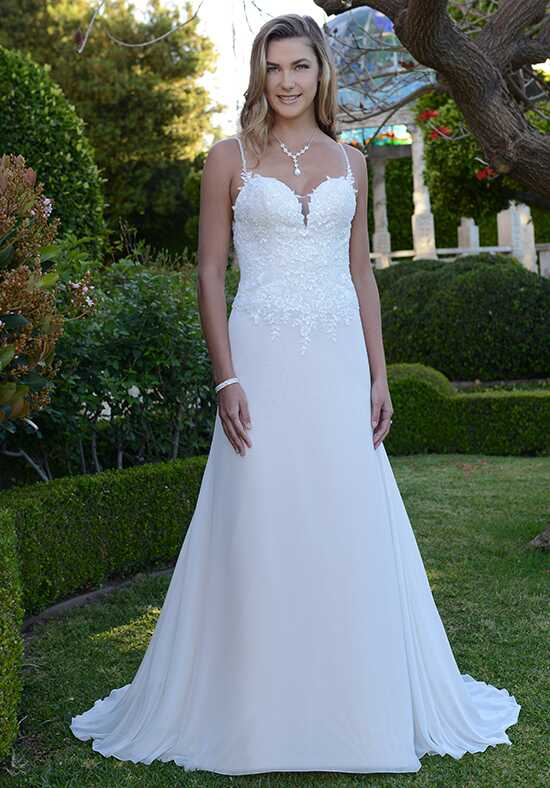 Pallas Athena PA9296N A-Line Wedding Dress