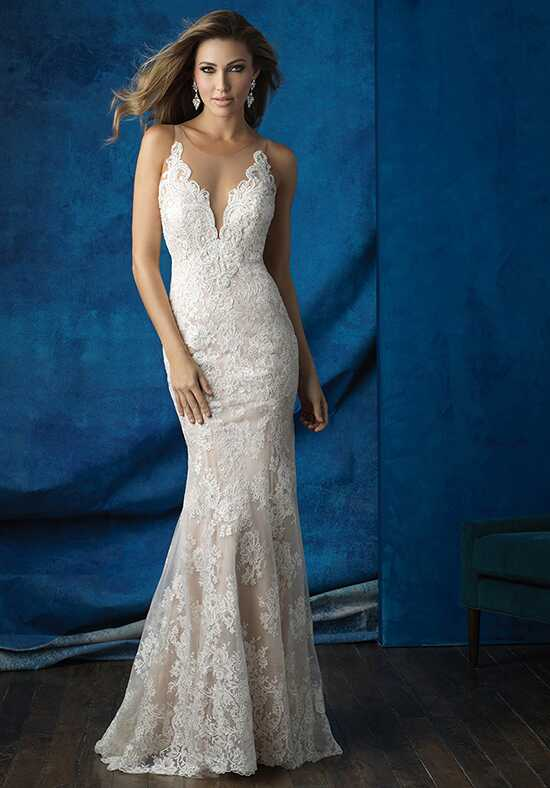 Allure Bridals 9363 Sheath Wedding Dress