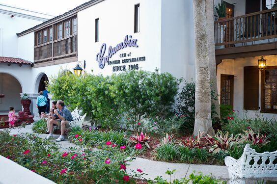 Columbia Restaurant Saint George Street Saint Augustine Fl