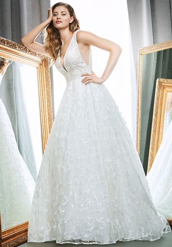 Kenneth Winston 1709 Ball Gown Wedding Dress