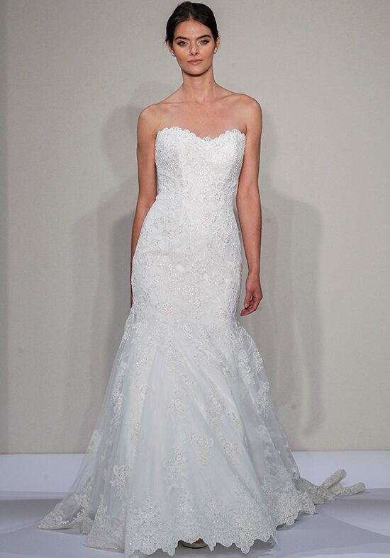 Dennis basso for kleinfeld 14082 wedding dress the knot for Kleinfeld mermaid wedding dresses