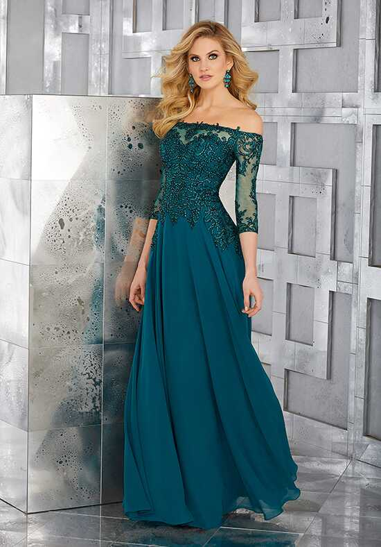 MGNY 71621 Green Mother Of The Bride Dress