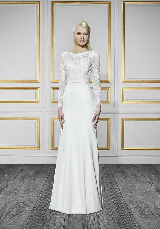 Moonlight Tango T731 Sheath Wedding Dress