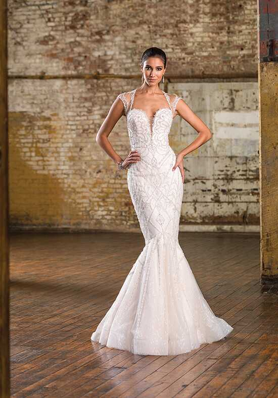 Justin Alexander Signature 9837 Mermaid Wedding Dress