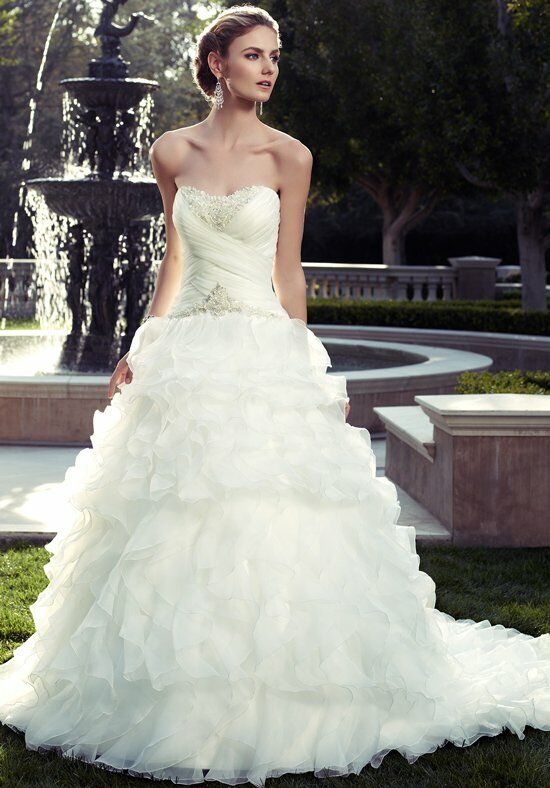 Casablanca Bridal 2078 A-Line Wedding Dress