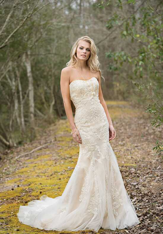 Lillian West 6450 A-Line Wedding Dress