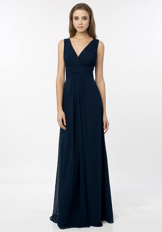 Bill Levkoff 768 V-Neck Bridesmaid Dress