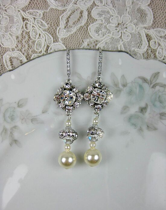 Everything Angelic Laisa Earrings - e362 Wedding Earring photo