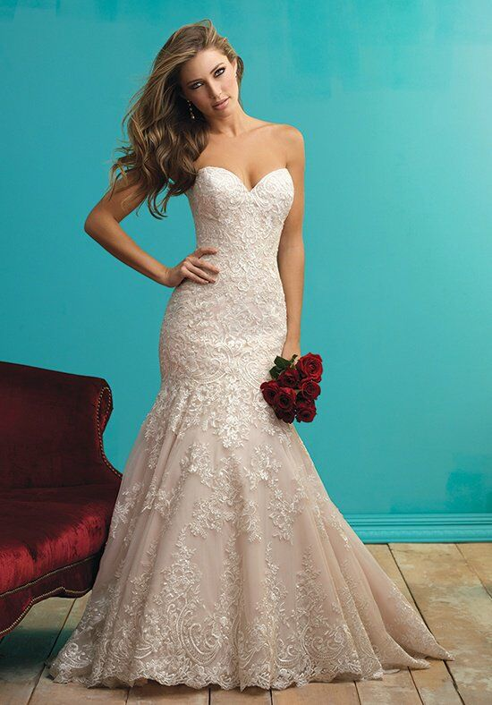 Allure Wedding Gowns with Sleeves