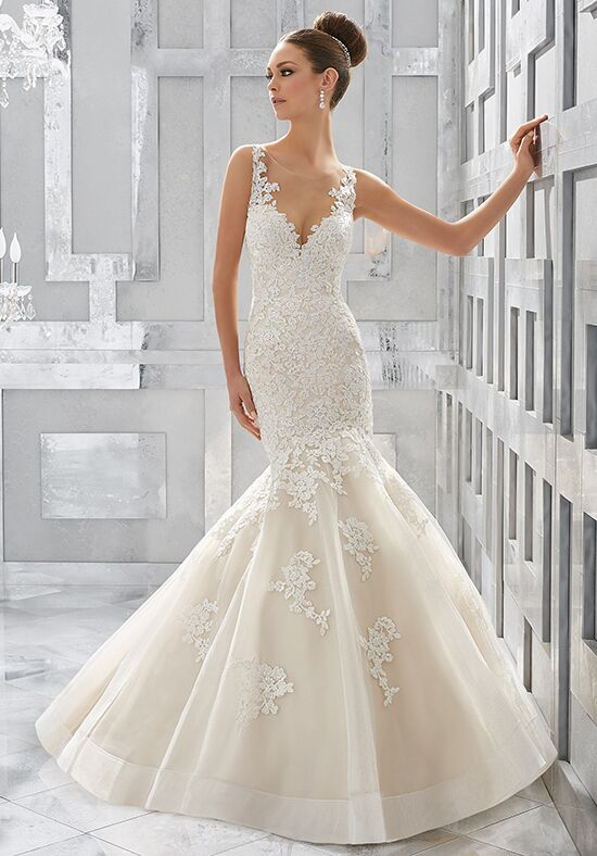 Morilee by Madeline Gardner/Blu Meryl | Style 5571 Mermaid Wedding Dress