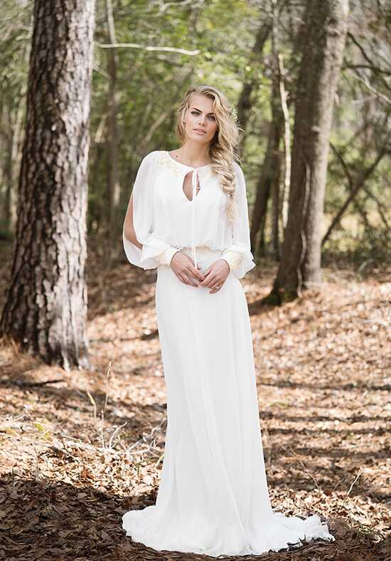 Lillian West 6446 Sheath Wedding Dress