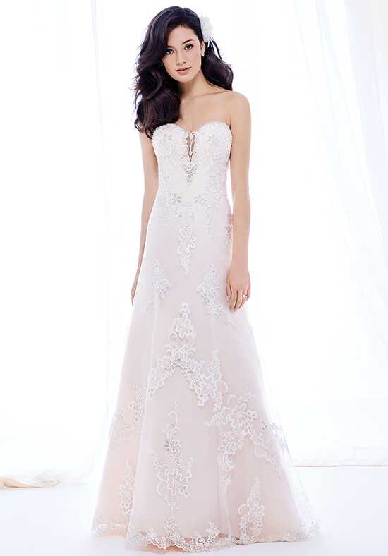 Kenneth Winston: Ella Rosa Collection BE391 A-Line Wedding Dress