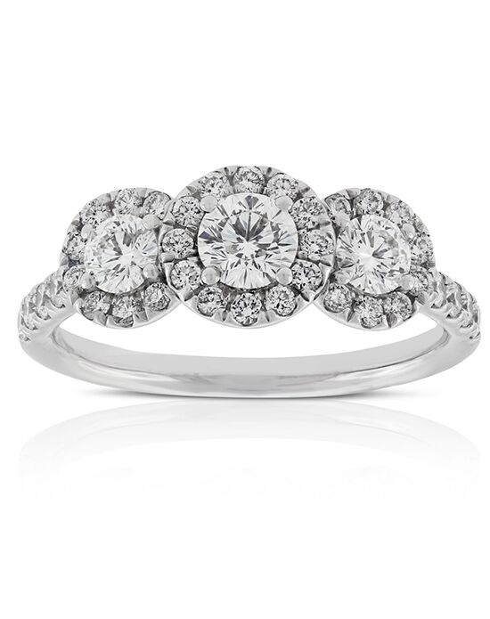 Ben Bridge Jeweler Glamorous Round Cut Engagement Ring
