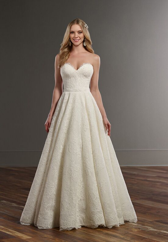 Martina Liana Darcy+Sander A-Line Wedding Dress