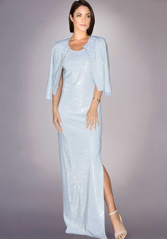 Grayse Wedding Party W242P007-Ice Blue Blue Mother Of The Bride Dress