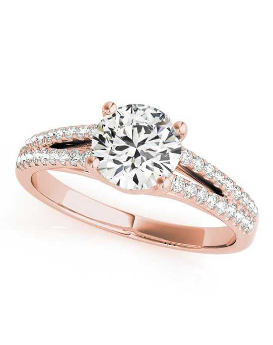 DiamondWish.com Classic Round Cut Engagement Ring