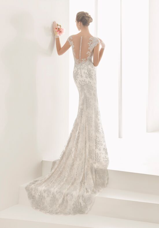 Rosa Clará Naia Sheath Wedding Dress