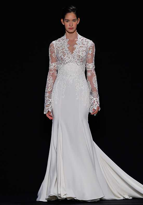 Mark Zunino for Kleinfeld 136 Sheath Wedding Dress