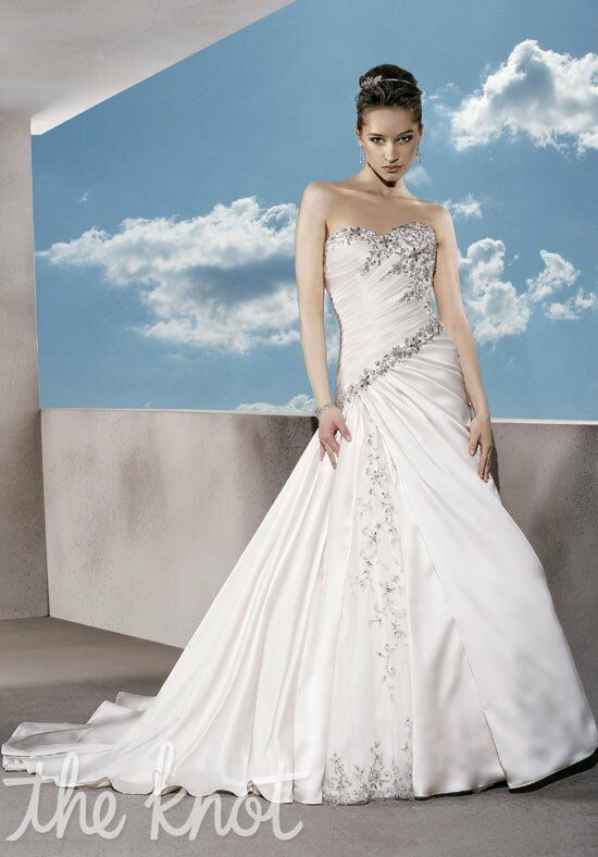 Demetrios 4286 A-Line Wedding Dress