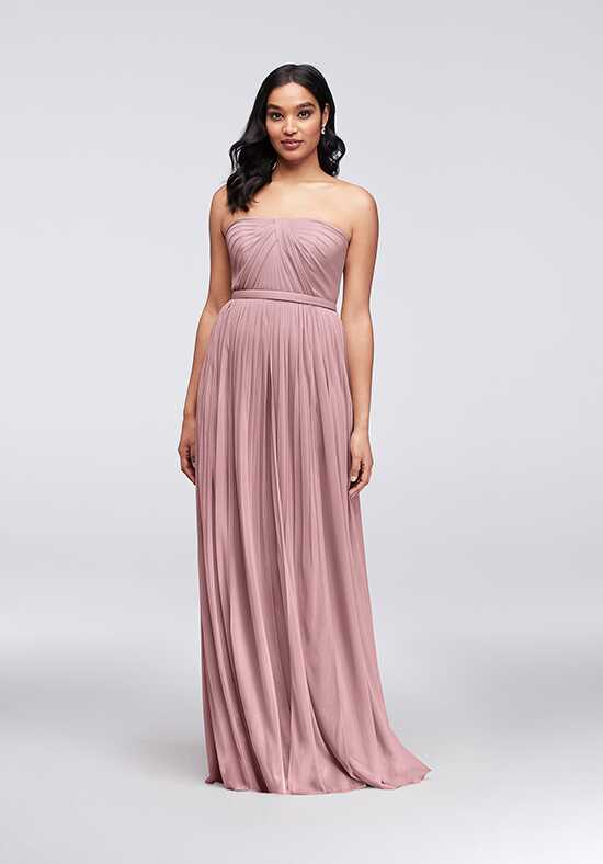 David's Bridal Collection David's Bridal Style F19515 Strapless Bridesmaid Dress