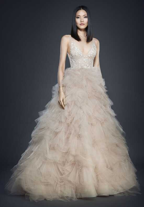Lazaro 3700 Ball Gown Wedding Dress