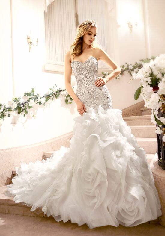 Moonlight Couture H1318 Mermaid Wedding Dress