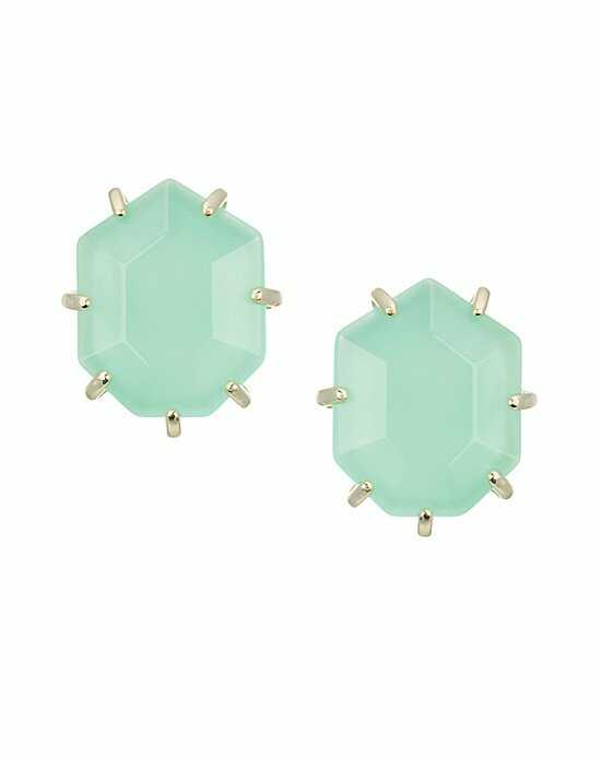 Kendra Scott Morgan Stud Earrings in Chalcedony Wedding Earring photo