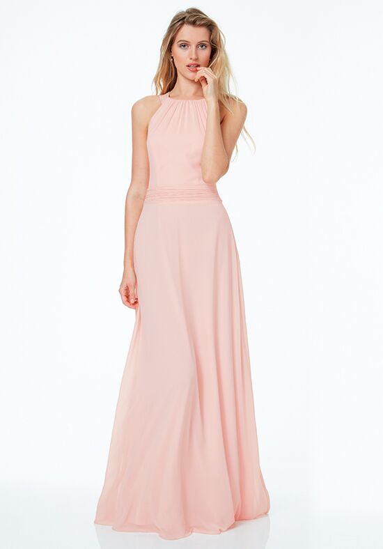 #LEVKOFF 7040 Scoop Bridesmaid Dress