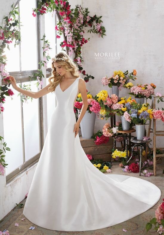 Morilee by Madeline Gardner/Voyage 6852 A-Line Wedding Dress