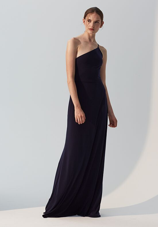 Amsale Bridesmaids Addison One Shoulder Bridesmaid Dress
