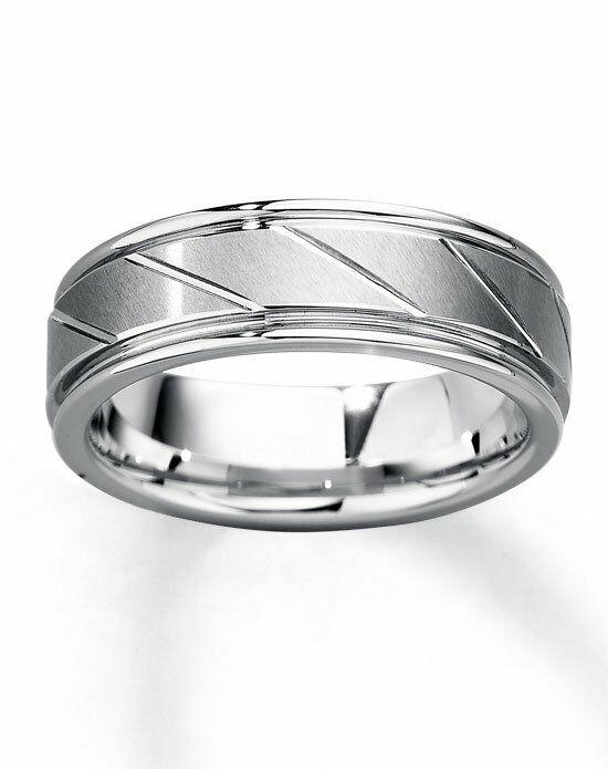 kay jewelers white tungsten carbide 7mm wedding band 251985002 wedding ring