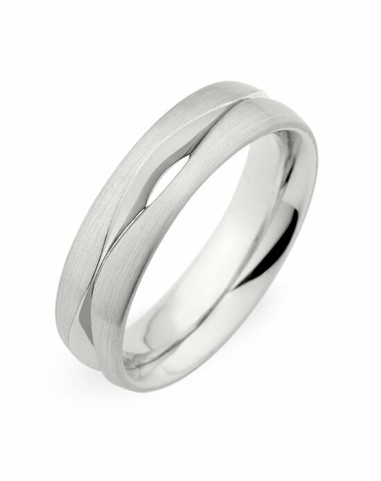 Christian Bauer 274281 Palladium Wedding Ring