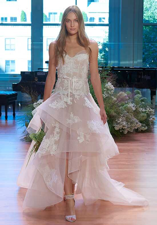 Monique Lhuillier Melody Ball Gown Wedding Dress