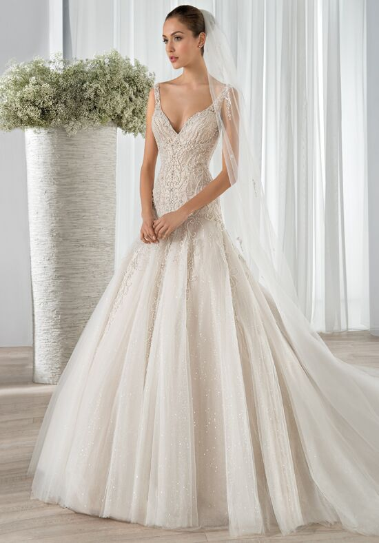 Demetrios 606 A-Line Wedding Dress