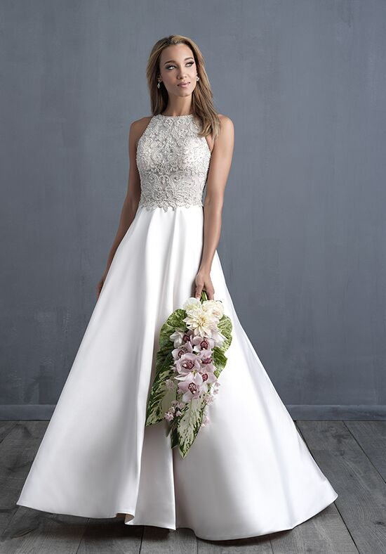 Allure Couture C483 Ball Gown Wedding Dress