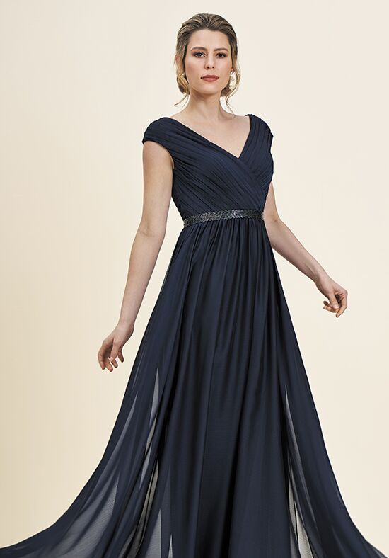 Jade J195056 Blue Mother Of The Bride Dress