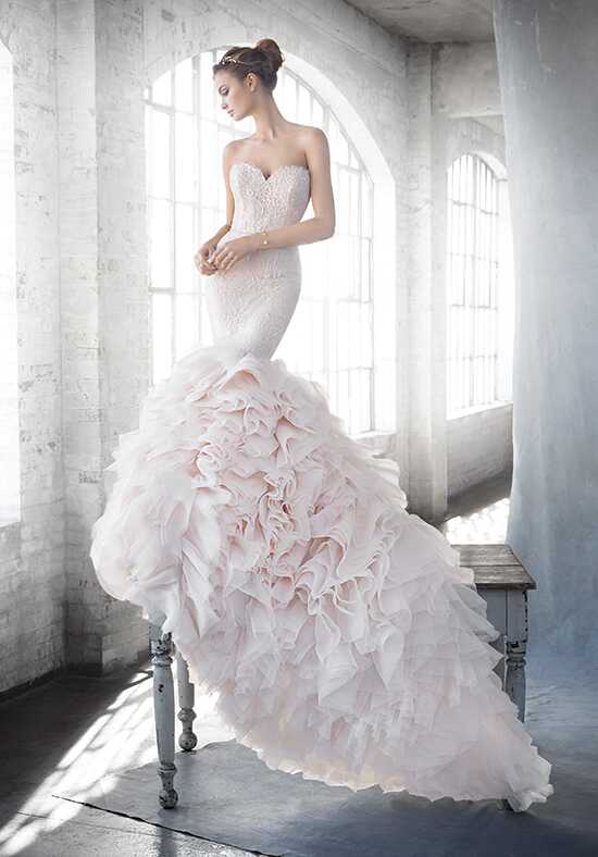 Lazaro 3612 Mermaid Wedding Dress