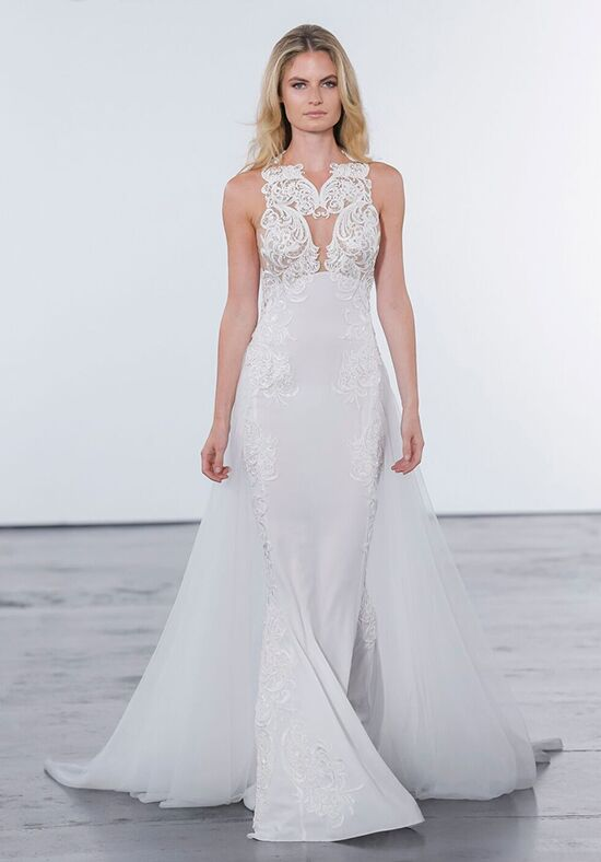 Pnina Tornai for Kleinfeld 4614 Sheath Wedding Dress