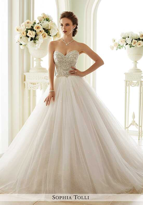 Sophia Tolli Y21663 Novella Ball Gown Wedding Dress